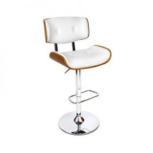 PU Leather Bar Stool with Chrome Base | Afterpay | zipPay