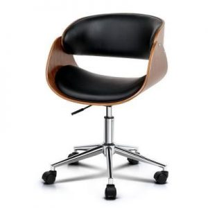 PU Leather Curved Office Chair | Afterpay | zipPay