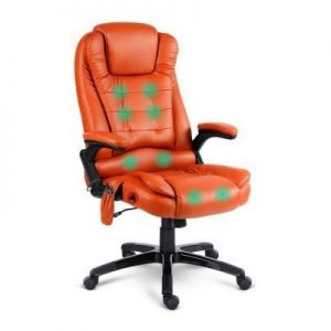 Pu Leather 8-point Massage Office Chair | Afterpay | zipPay | Oxipay