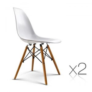 Set of 2 Replica Eames Eiffel Dining Chai | Afterpay | zipPay | Oxipay