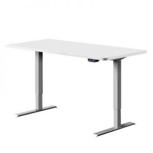 Standing Desk Height Adjustable Motorized Electric Sit Stand Computer Table 140cm