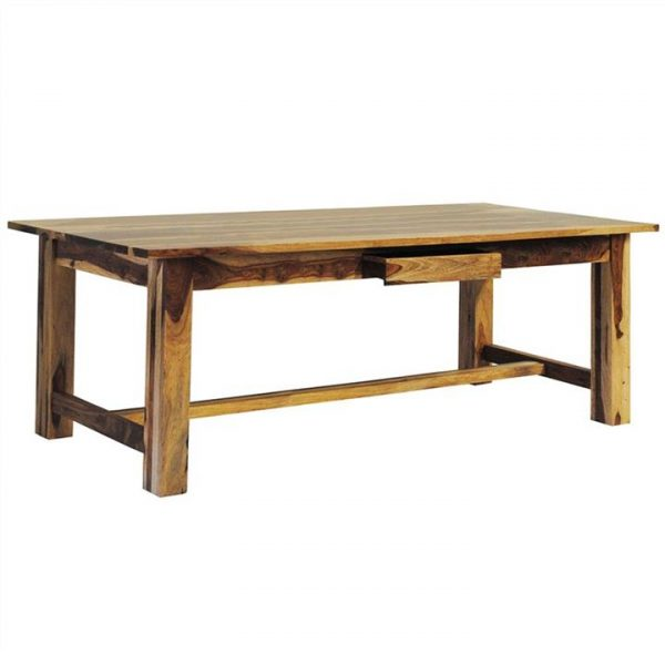 Thompson Solid Mango Wood Timber 290cm Dining Table