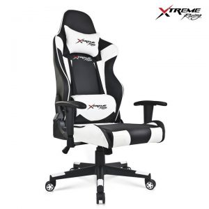 Xtreme Racing Gaming Office Chair PU Leather Computer Executive Recliner Seat C