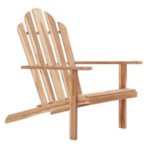 Adirondack Chair Teak Hard Wood Untreated