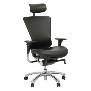 Alma Leather Office Chair
