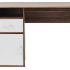 Alphason Hastings Walnut Computer Desk - AW22145
