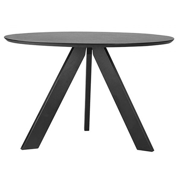 Bizina Dining Table, Black
