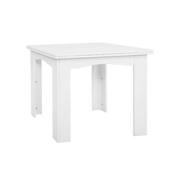 Extending Dining Table 6 Seater Wooden Kitchen Tables White Cafe