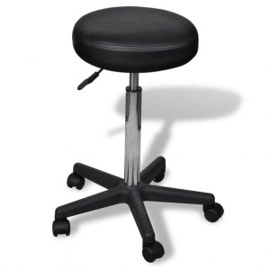 Office Stool - Black