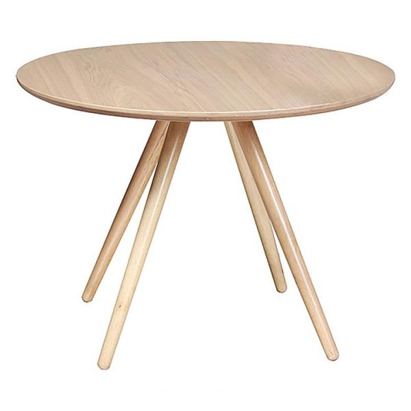 Coco Round Dining Table, Ash