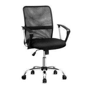 Office Chair Gaming Computer Mesh Chairs Executive Mid Back Black