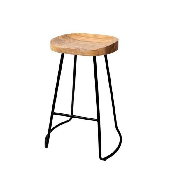 4x Vintage Tractor Bar Stools Retro Bar Stool Industrial Chairs 65cm