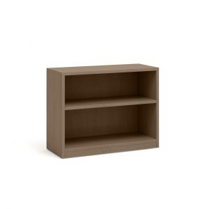 Currency Bookcase in Virginia Walnut by Steelcase