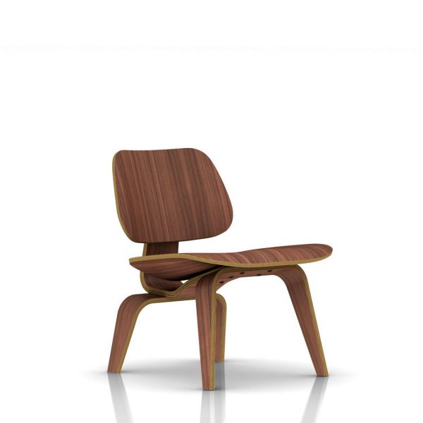 Eames Plywood Lounge Chair in Walnut by Herman Miller