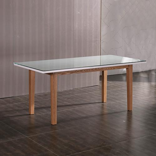 Galaxy Dining Table White Ash Colour