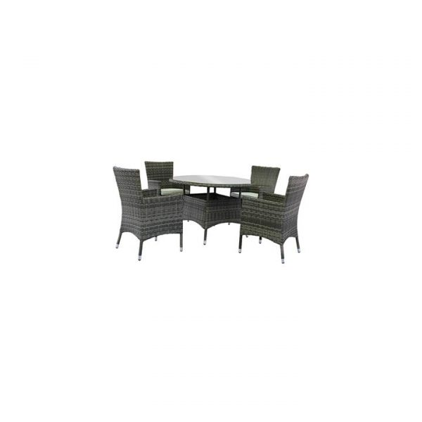Porter 5-Piece Wicker Dining Set