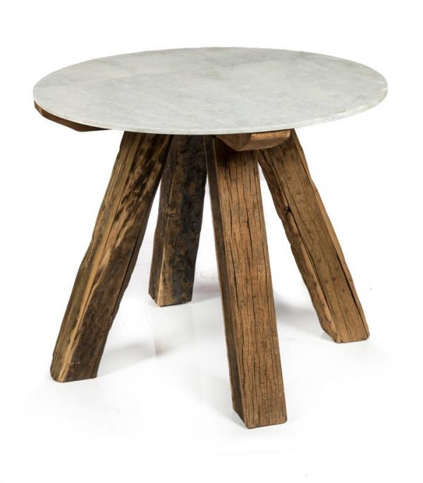 Rustic And Sleek Dining Table