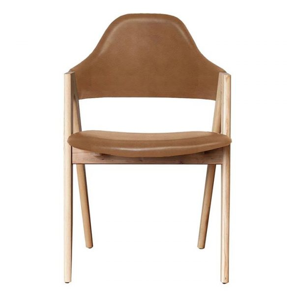 Sergio Dining Chair, Leather