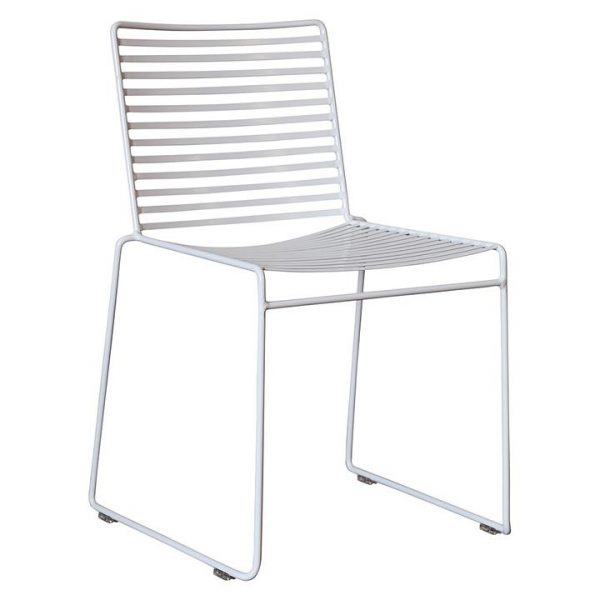 Studio Outdoor Wire Dining Chair, White