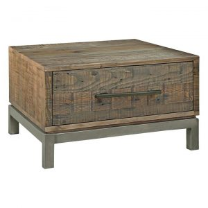 Ardennes Reclaimed Wood Side Table
