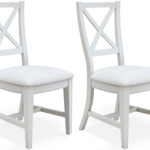 Baumhaus Signature Grey Dining Chair (Pair)