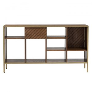 Browning Brass Bookcase