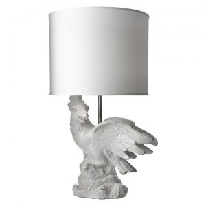 Cockatoo Table Lamp, White