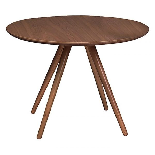 Coco Round Dining Table, Walnut