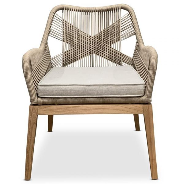 Dolls Woven Rope Dining Chair