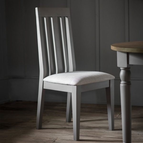 Gallery Cookham Grey Dining Chair (Pair)