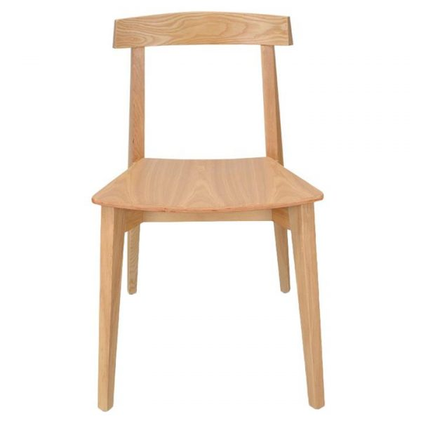 Herron Ash Wood Dining Chair, Natural