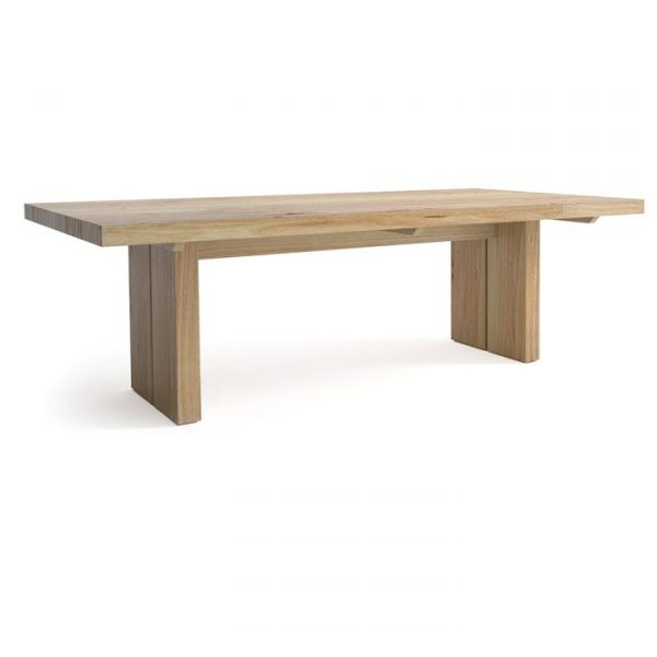 Nuoro Messmate Timber Dining Table, 210cm