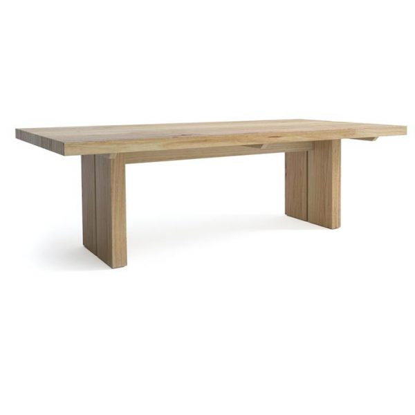 Nuoro Messmate Timber Dining Table, 250cm