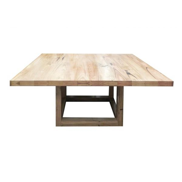 Nuoro Messmate Timber Square Dining Table, 150cm