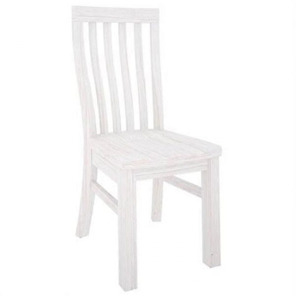 Viborg Solid Mountain Ash Timber Dining Chair with Timber Seat